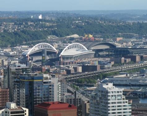NFL Football Stadium in Seattle WA - Qwest Field